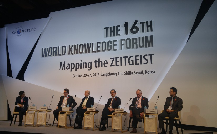 World Knowledge Forum in Seoul – mapping the Zeitgeist