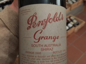 Penfolds Grange 1995 wine