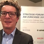 Michael at the C-level Strategy-forum in Zurich