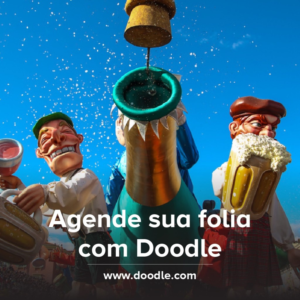Carnival in Rio organised with Doodle